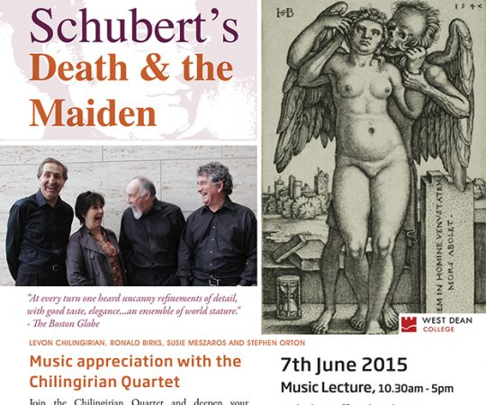 Get Deeper into Schubert's 'Death & the Maiden' – Join us