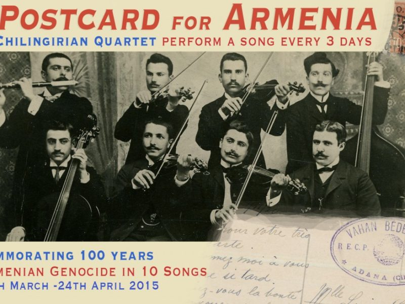 Performing Komitas songs to commemorate Armenian Genocide