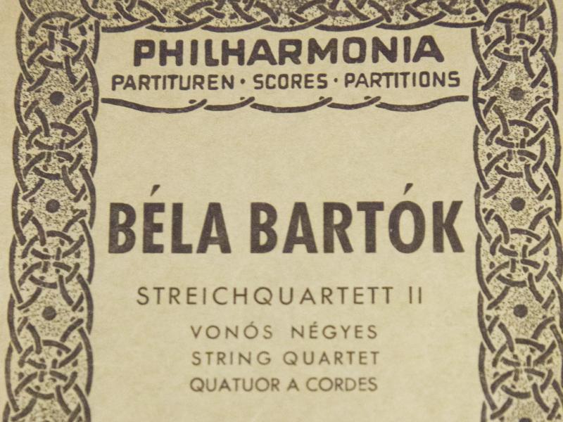 Bartók's 2nd Quartet: Levon Chilingirian from 2016