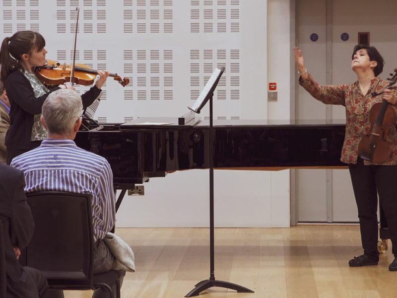 RNCM Masterclass: Walton Viola Concerto Mvt. 1